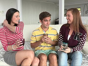 Experienced Step Mom Kendra Lust Helping Young Couple
