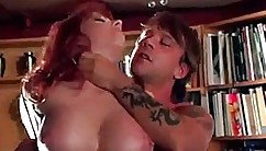 Mouth-watering-titted Brunette Is Getting Fucked By A Guy