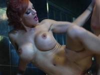 Bigtitted Mother LouLou Has Screwed From Backside